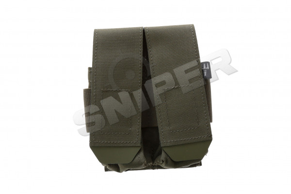 Closed Double Pistol Magazine Pouch, Ranger Green