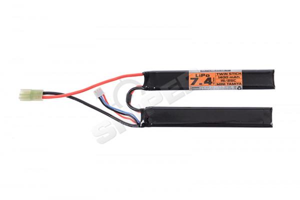 V Energy 7,4V 1.400mAh 15/25C Double Stick LiPo
