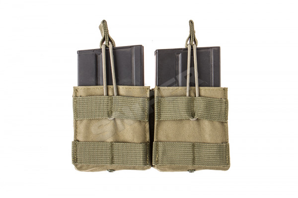 Double 7,62 Mag Pouch, OD Green