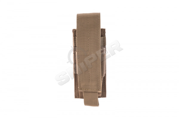 Single Pistol Mag Pouch, Coyote Brown