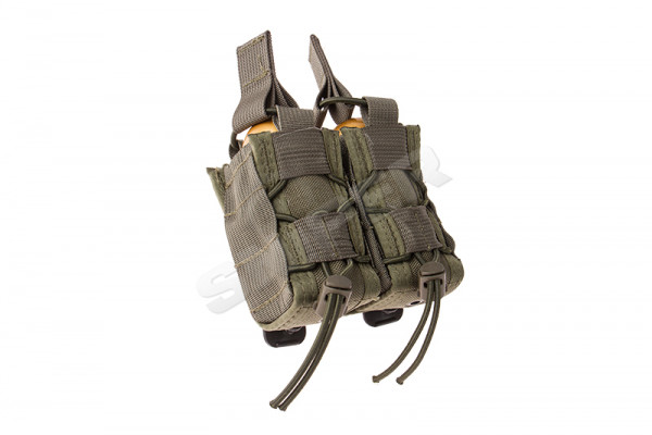 40mm TACO Double MOLLE Pouch, OD Green