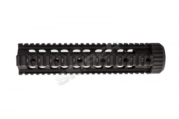 "Bolt CQB 9"" Rail System, Black"