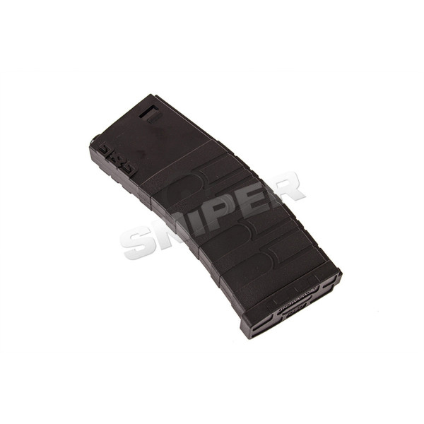 M4 Mid Cap Magazin Kunststoff (120rds), black