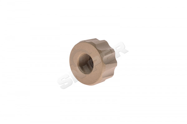 14mm CCW Battle Owl Tracer Unit Adapter, Tan