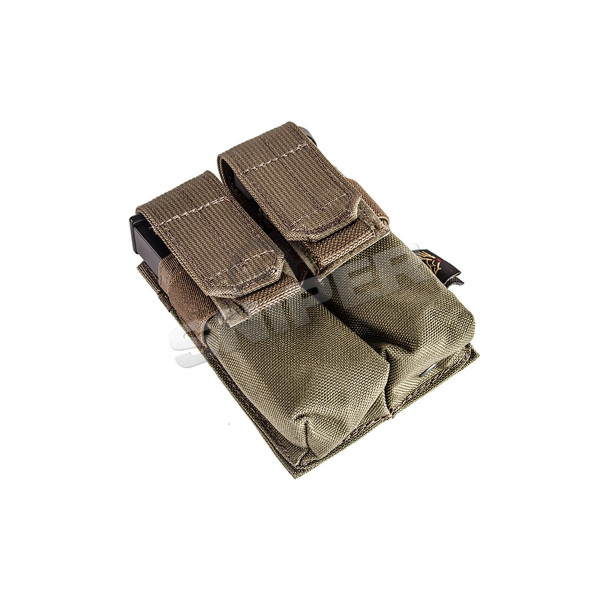 Double 9mm Mag Pouch, Ranger Green
