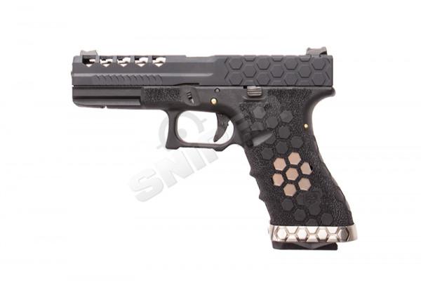 VX0101 Hex Cut Pistol, GBB