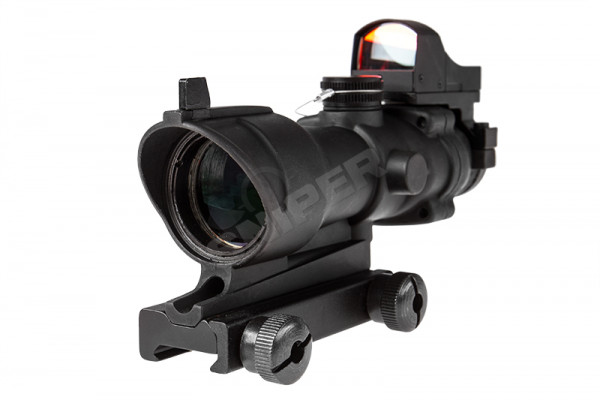 NPCOG 4x32 inkl. DR Red Dot, Black