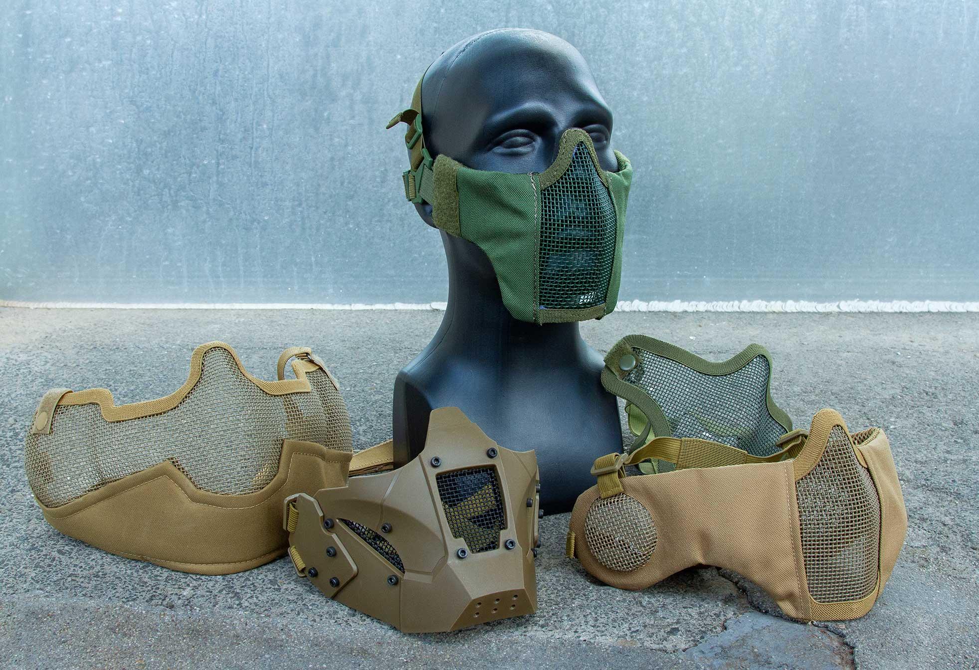 Gitterschutzmasken