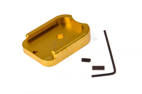 Hi-Capa Aluminium Magazine Base Plate, Gold