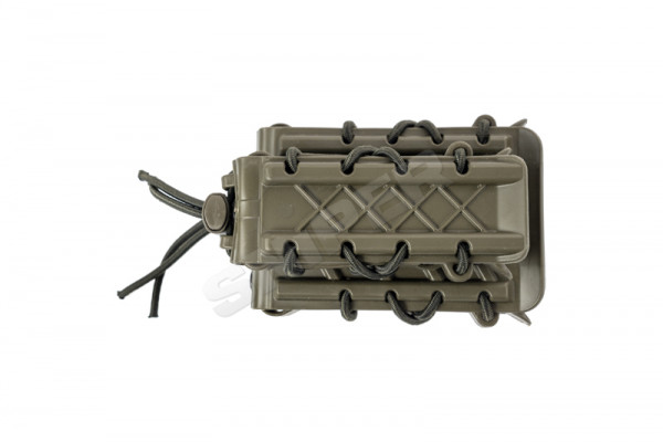 Poly Double Decker TACO Mag Pouch, OD Green