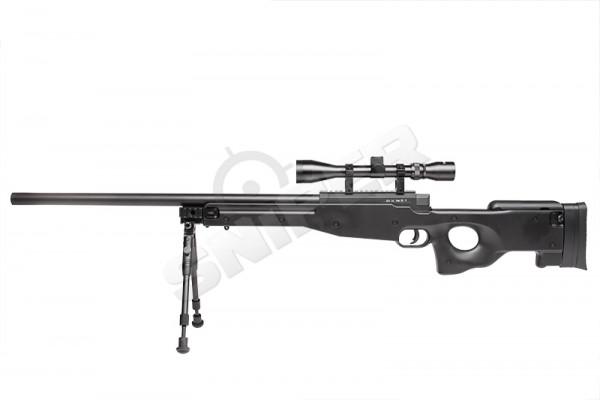 MB01 Sniper Rifle Full Set, Black