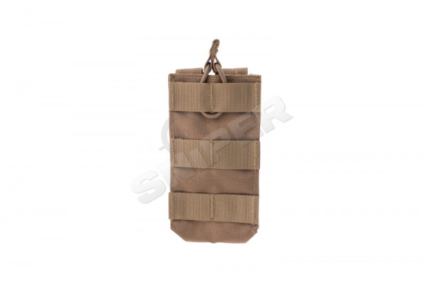 Single M4 Open-Top Stacker Mag Pouch, Coyote Brown