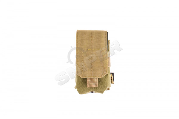 Single M14 / AR10 Mag Pouch, Khaki/Tan