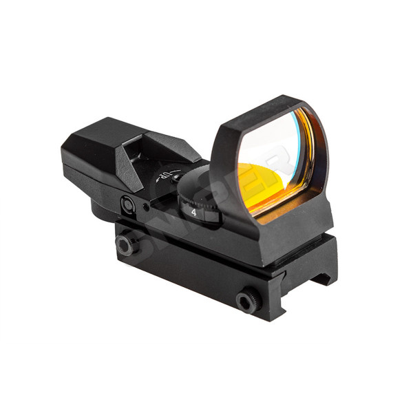 Red 4 Reticle Optic, Black