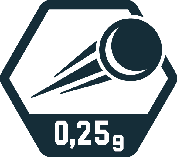 0,25 Gramm