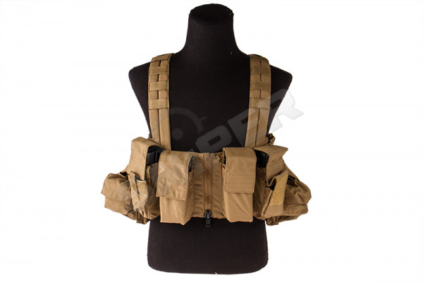 Lock and Load Chest Rig, Coyote Brown