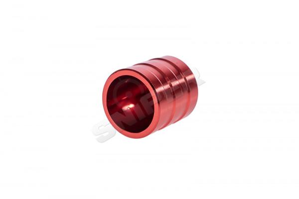 CNC Aluminium Mag Follower für DM 870. red