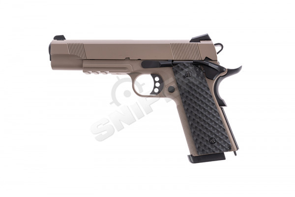 Raven 1911 MEU Railed GBB, Tan