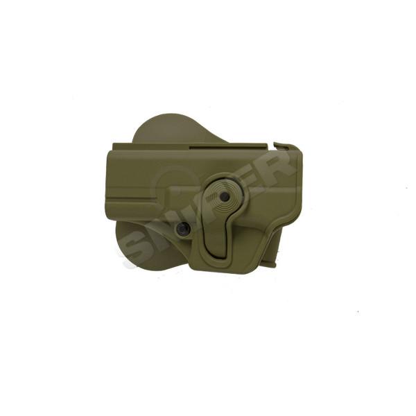 Linkshänder Holster für Glock 19/23/25/32, OD