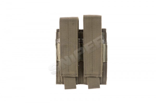 Double Pistol Mag Pouch, OD Green