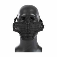 Mesh Lower Face Shield V1, Black