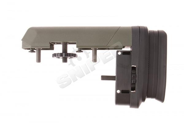 Striker AS01 Schaftkappe, Wangenauflage Set, Oliv