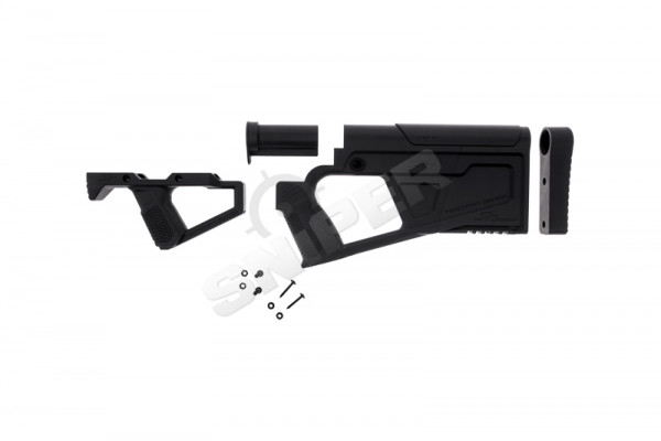 AR15 AEG Advanced Carbine Kit, Black