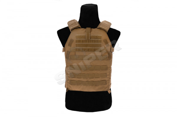 Large Modular Plate Carrier, Coyote Brown