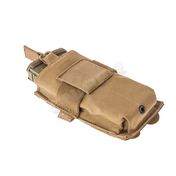 Helium Whisper Single M4 Pouch, Coyote Brown