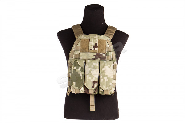 Speed Draw Plate Carrier, Honor Camo