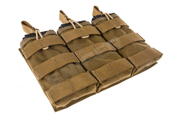 EV Universal Triple Mag Pouch, Coyote Brown