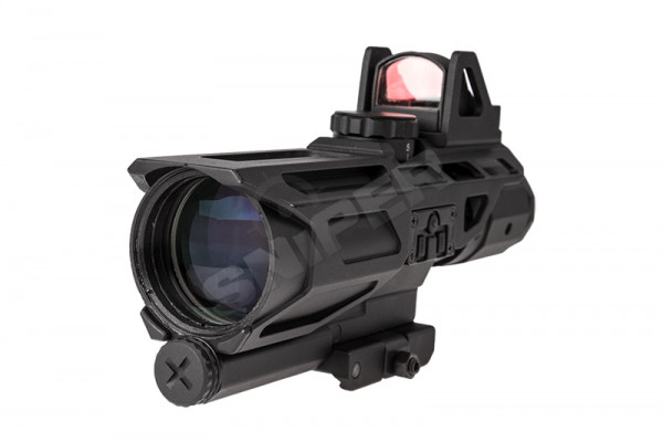 Gen3 USS 3-9x40 Scope inkl. Red Dot Sight P4,Black