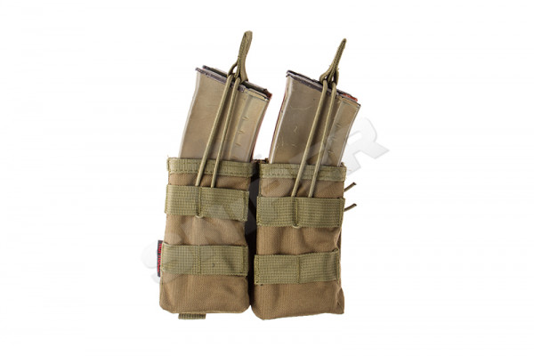 PMC AK Double Open Mag Pouch, Green