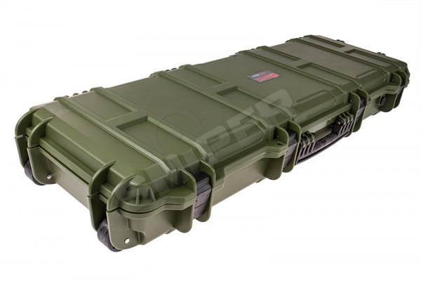 100cm Large Trolley Hard Case, OD Green