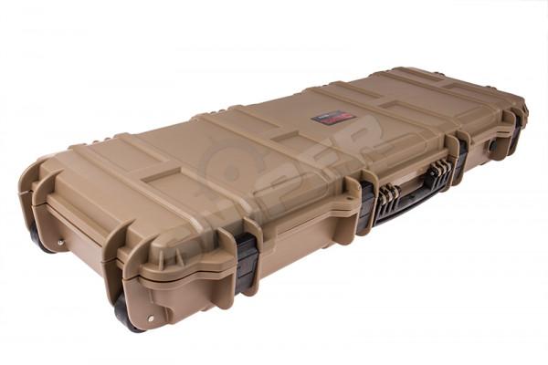 100cm Large Trolley Hard Case, Tan